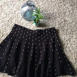 ✨BOGO Free✨ Candie's Skater Skirt Black & White L